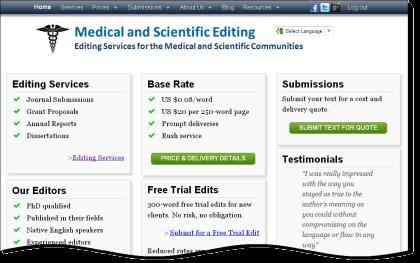 Medical and Scientific Editing